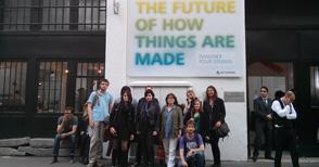 Les CIA visitent l'exposition d'Autodesk à Paris