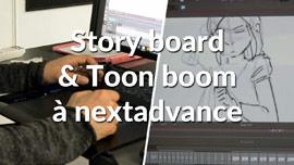 L'art du story board et de Toon Boom avec Prakash Topsy