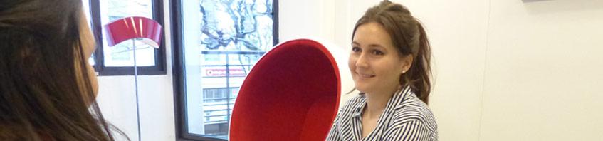Interview d'Elodie, Chargée de Relations Entreprise pour Nextadvance