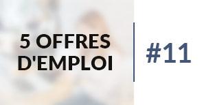 5 offres d'emploi à pourvoir #11