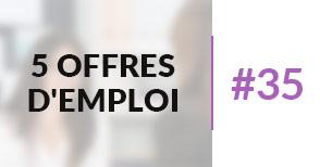 5 offres d'emploi à pourvoir #35