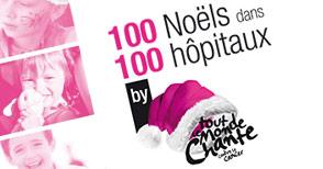 NextFormation fait un don à l'association 100 Noëls dans 100 hôpitaux