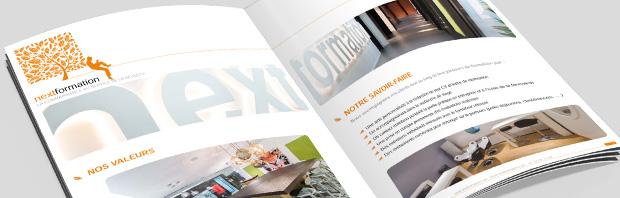 catalogue de présentation de NextFormation