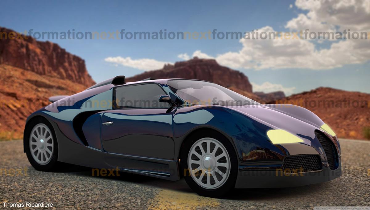 Travaux 3D réalisés par les Infographistes Multimédia 3D de NextFormation