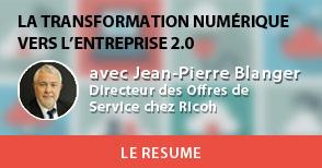 Résumé de la conférence : Transformation numérique, vers l'entreprise 2.0