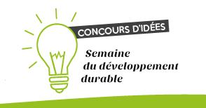 Résultats des idées de la semaine du développement durable