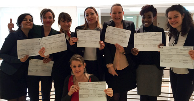 Photo de la promotion des Assistantes de direction bilingue (promotion 2015)