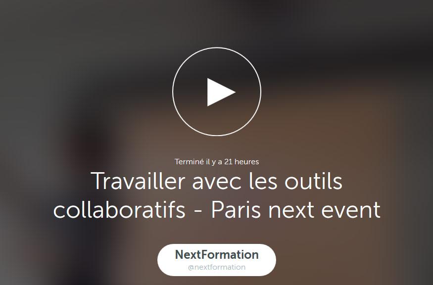 vidéo Paris Next Event