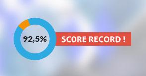 92,5% taux de réussite record pour Nextformation