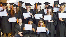 Remise de diplômes chez Nextformation