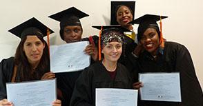 Cérémonie de remise des diplômes de juin