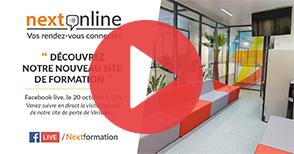 NextOnline #5 : visite guidée de notre nouveau centre de formation à Porte de Versailles