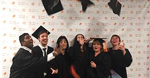 Cérémonie de remise des diplômes de décembre