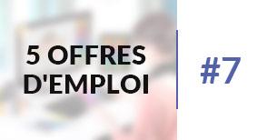 5 offres d'emploi à pourvoir #7