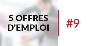 5 offres d'emploi à pourvoir #9