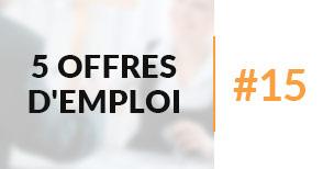 5 offres d'emploi à pourvoir #15