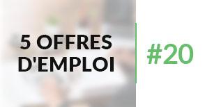 5 offres d'emploi à pourvoir #20