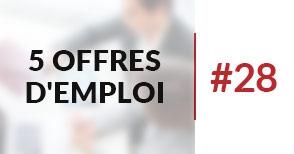 5 offres d'emploi à pourvoir #28