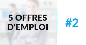 5 offres d'emploi à pourvoir #2