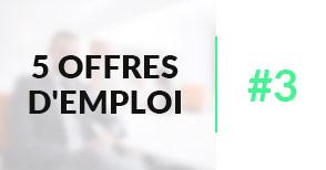 5 offres d'emploi à pourvoir #3