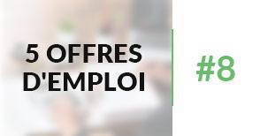 5 offres d'emploi à pourvoir #8