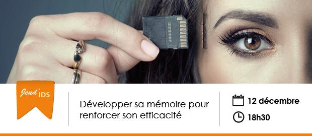 événement Nextformation : Développer sa mémoire pour renforcer son efficacité
