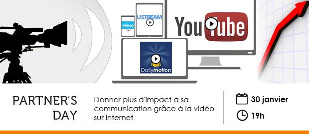 événement Nextformation : Donner plus d'impact à sa communication grâce à la vidéo sur internet