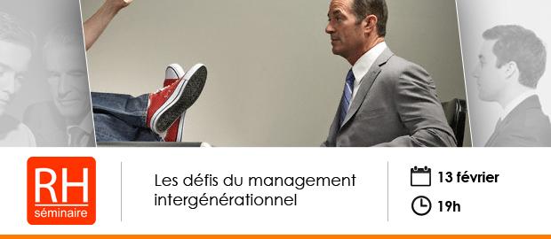 événement Nextformation : Les défis du management intergénérationnel