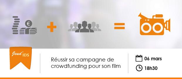 événement Nextformation : Réussir sa campagne de crowdfunding pour son film