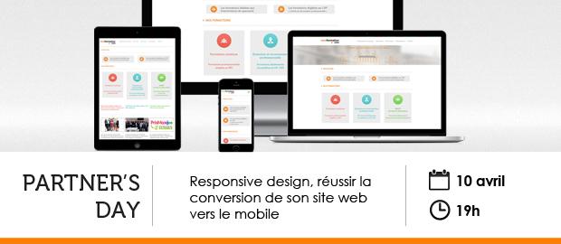 événement NextFormation : responsive design, un site compatible pour tous les écrans