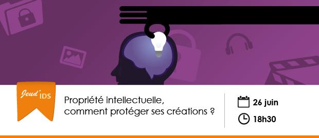 événement NextFormation : propriété intellectuelle et droits d'auteur - Jeud'IDS