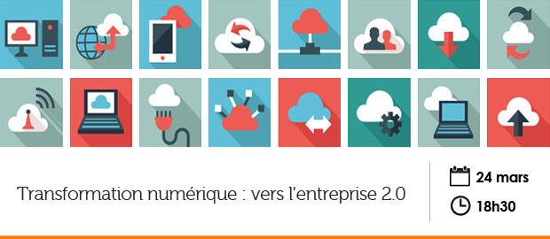 événement Nextformation : transformation numérique, vers l'entreprise 2.0