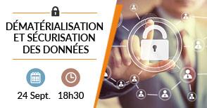 Dématérialisation et sécurisation des données