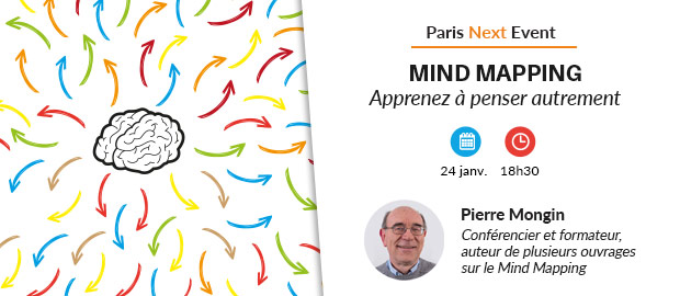 Paris Next Event - Mind mapping
