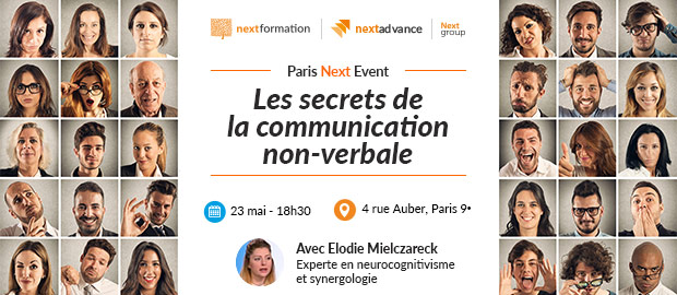 Conférence Paris Next Event: Les secrets de la communication non-verbale