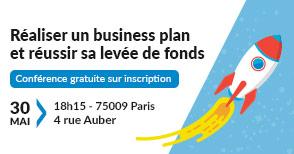 Conférence : Réaliser un business plan et réussir sa levée de fonds